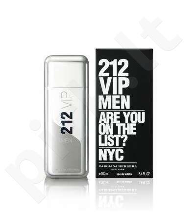 Carolina Herrera 212 VIP Men, tualetinis vanduo vyrams, 100ml