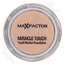Max Factor Miracle Touch Liquid Illusion Foundation, kosmetika moterims, 11,5g, (80 Bronze)