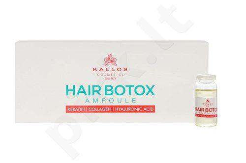 Kallos Hair Plaukų botoksas ampulės rinkinys moterims, (6x 10 ml)