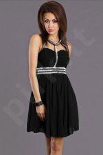 EVA&LOLA suknelė - juoda 6811-3