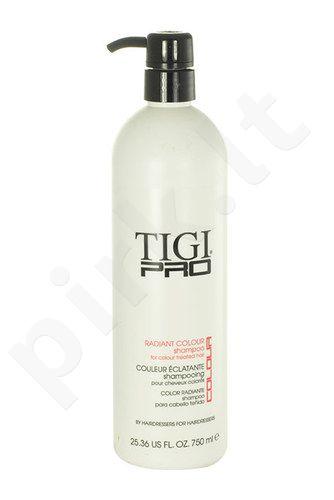 Tigi Pro Radiant Colour šampūnas, kosmetika moterims, 750ml