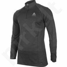 Marškinėliai bėgimui  ODLO Midlayer 1/2 zip Quagg M 349102/10374