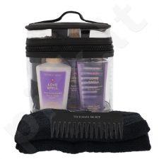 Victoria´s Secret Love Spell kūno rinkinys moterims, (Nourishingkūno purškiklis 60 ml + kūno losjonas 60 ml + dušo želė 60 ml + šukos + Rankšluostis + kosmetikos krepšys)