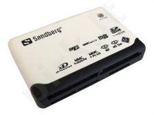 Atminties kortelių skaitytuvas Sandberg Multi