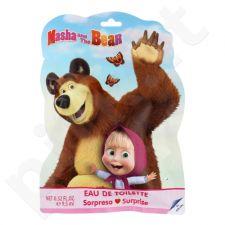 Disney Masha and The Bear rinkinys vaikams, (EDT 9,5 ml + lipdukai )