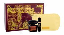 Versace Crystal Noir, rinkinys tualetinis vanduo moterims, (EDT 90 ml + EDT 10 ml + kosmetika krepšys)