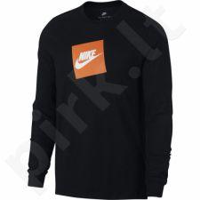 Marškinėliai Nike Tee LS Futura Box HBR M AJ3873-010