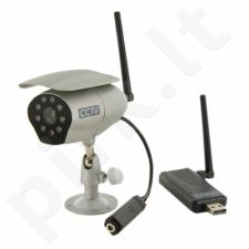 4World Wireless CCTV Kit - Skaitmeninės kameros (dig-01-BZ) + Gavėjas USB | IP55