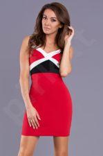 Emamoda suknelė - raudona 9301-1