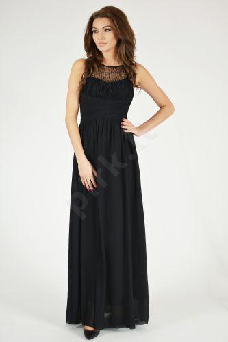 EVA&LOLA suknelė - juoda 9709-1