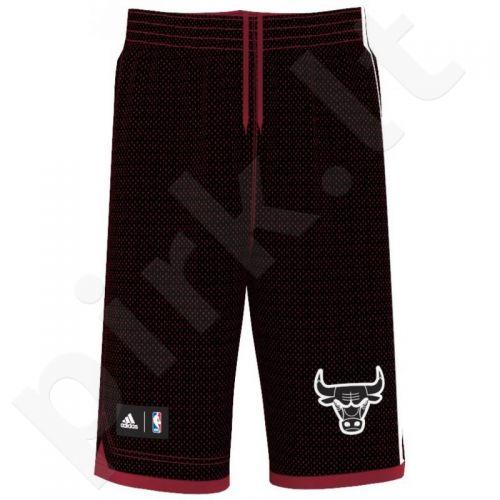 Šortai krepšiniui Adidas Chicago Bulls Summer Run Non Junior AH5074