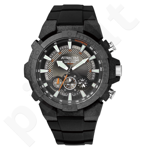 Vyriškas laikrodis Q&Q Atractive DA90J003Y