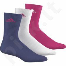Kojinės Adidas 3S Performance Crew Half cushioned AJ9634