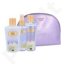 Victoria´s Secret Secret Charm kūno rinkinys moterims, (Nourishing kūno purškiklis 125 ml + kūno losjonas 125 ml + dušo želė 125 ml + kosmetikos krepšys)