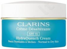 Clarins HydraQuench Cream SPF15, 50ml, kosmetika moterims