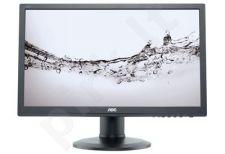 AOC Monitor LED e2460Pq 24'' Full HD, 2ms, D-Sub, DVI-D, DP, speaker