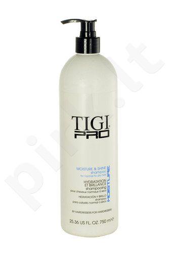 Tigi Pro Moisture And Shine šampūnas, kosmetika moterims, 750ml