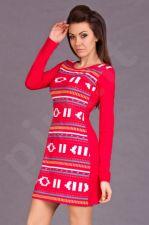 HHG I13-031 HISZPANIA Suknelė - raudona 5633-1