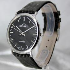 Vyriškas laikrodis BISSET Slim Top BS25C50 MS BK BK