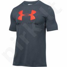 Marškinėliai treniruotėms Under Armour Sportstyle Logo M 1257615-016