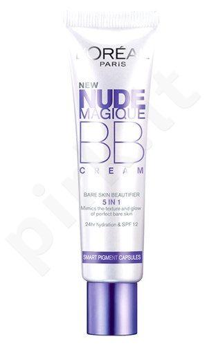 L´Oreal Paris Nude Magique BB kremas 5in1, kosmetika moterims, 30ml, (Light)