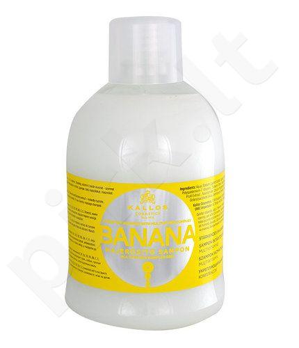Kallos Banana Fortifying šampūnas, kosmetika moterims, 1000ml