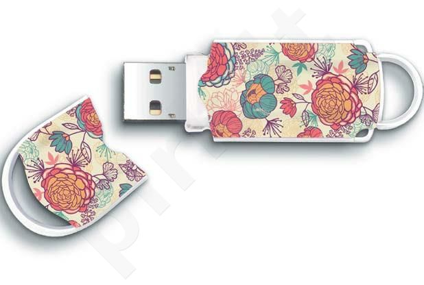 Atmintukas Integral Xpression Floral 8GB