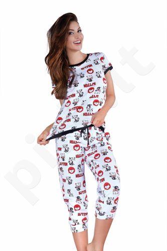Babella pižama KATINAI 3001B (limituota versija iš medvilnės)