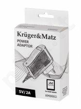 Kelioninis įkroviklis  Kruger & Matz for tablets 5V 2A