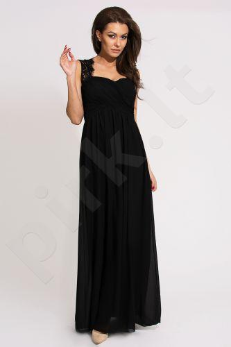 EVA&LOLA suknelė - juoda 9711-1