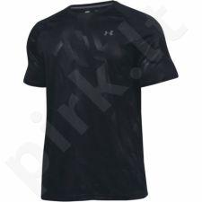 Marškinėliai treniruotėms Under Armour Tech Novelty Shortsleeve M 1236401-018