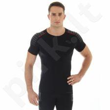 Marškinėliai Brubeck Fitness M SS10900 juoda