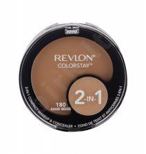 Revlon Colorstay, 2-In-1, makiažo pagrindas moterims, 12,3g, (180 Sand Beige)