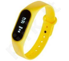 Smartband, Išmanusis laikrodis Garett Fit 7 Yellow