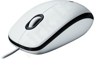 Pelė Logitech M100 USB Balta