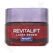 L´Oreal Paris Revitalift Laser Renew naktinis kremas, kosmetika moterims, 50ml