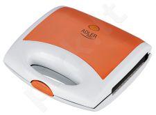 Sumuštinių keptuvė ADLER AD3020 orange