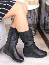 Ilgaauliai odiniai batai Rieker X2471-00