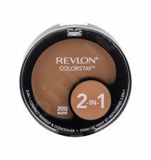 Revlon Colorstay, 2-In-1, makiažui moterims, 12,3g, (200 Nude)