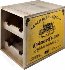 Vyno butelių lentynėlė 90250
