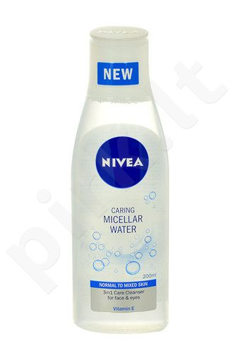 Nivea Caring Micellar Water Normal Skin, kosmetika moterims, 200ml