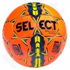 Futbolo kamuolys SELECT Brillant Super  FIFA oranžinė-geltona