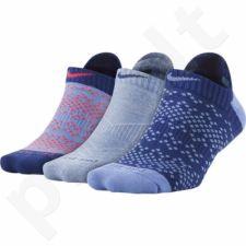 Kojinės Nike Dri-FIT Graphic No-Show Tab 3pak W SX5086-940
