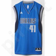 Marškinėliai krepšiniui Adidas Replica Dallas Mavericks Dirk Nowitzki M L71419