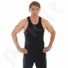 Marškinėliai Brubeck Fitess M TA10070 juoda