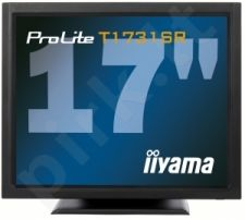 Monitorius iiyama LCD 17'' Prolite T1731SR-B1, 5ms, DVI, Garsiak., touchscreen