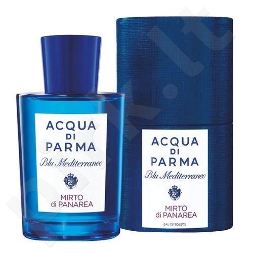 Acqua di Parma Blu Mediterraneo Mirto di Panarea, tualetinis vanduo moterims ir vyrams, 150ml, (Testeris)