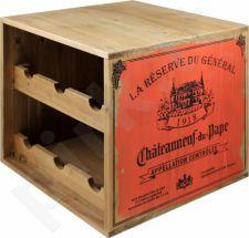 Vyno butelių lentynėlė 90251