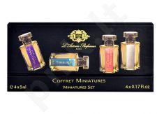 L´Artisan Parfumeur Mini Set rinkinys moterims ir vyrams, (5ml EDP Caligna + 5ml EDT La Chasse aux Papillons  + 5ml EDP Mure et Musc Extreme + 5ml EDT Timbuktu)