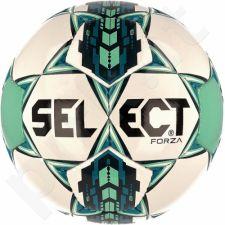 Futbolo kamuolys SELECT Forza balta-žalia